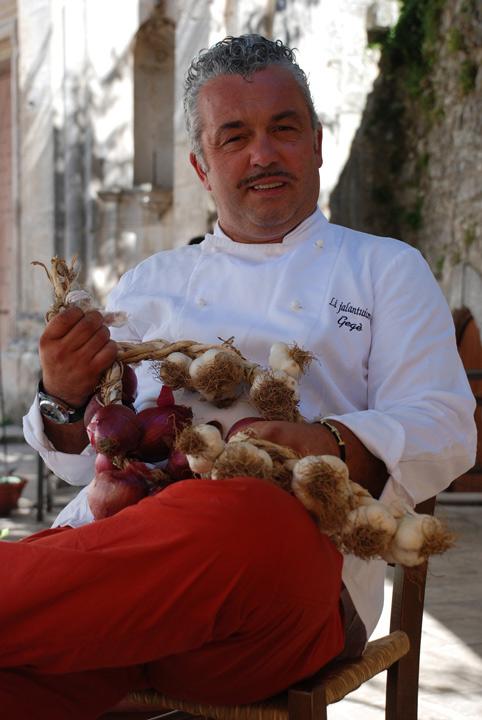 La puglia a tavola con lo chef geg mangano al ristorante - A tavola con lo chef ...